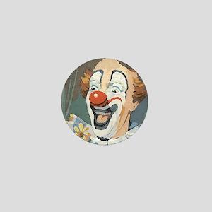 Painted Clown Mini Button