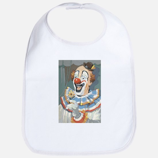 Painted Clown Bib