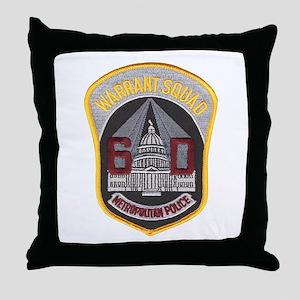 warrant Throw Pillow