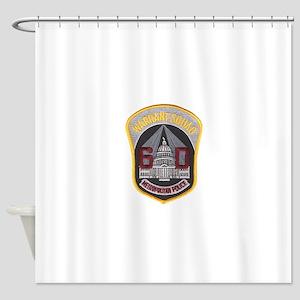 warrant Shower Curtain