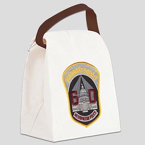 warrant Canvas Lunch Bag