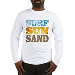Surf, Sun, Sand Long Sleeve T-Shirt