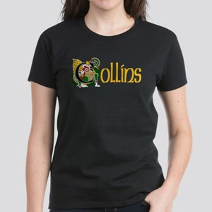 Collins Celtic Dragon Women's Dark T-Shirt