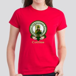 Collins Clan Motto Women's Dark T-Shirt