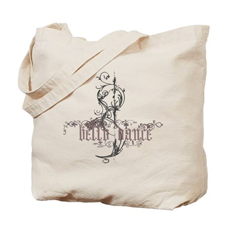 Belly Dance Tote Bag