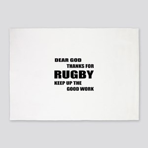 Dear god thanks for Rugby Keep up t 5'x7'Area Rug
