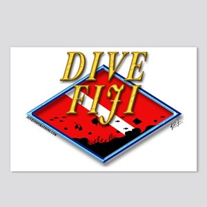 Dive Fiji Postcards (Package of 8)