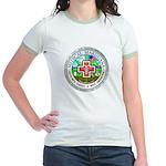 Medical Marijuana Jr. Ringer T-Shirt