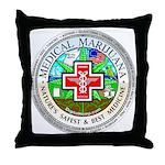 Medical Marijuana Throw Pillow