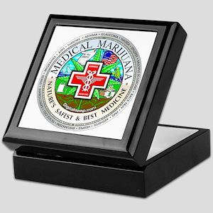 Medical Marijuana Keepsake Box