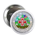 """Medical Marijuana 2.25"""" Button (10 pack)"""