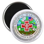"""Medical Marijuana 2.25"""" Magnet (10 pack)"""