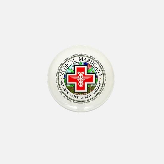 Medical Marijuana Mini Button