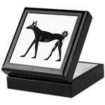 Ancient Basenji Keepsake Box