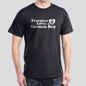 Everyone Loves a German Boy Dark T-Shirt