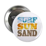 "Surf, Sun, Sand 2.25"" Button"