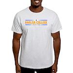 Khalsa College Ash Grey T-Shirt