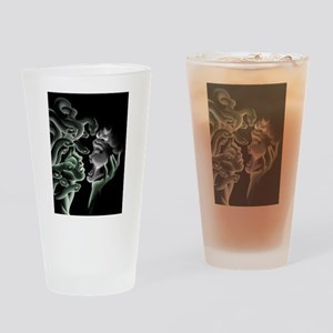 The power of a look Drinking Glass