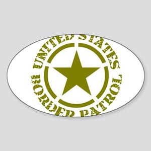 border-patrol Sticker