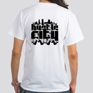 Hustle City White T-Shirt