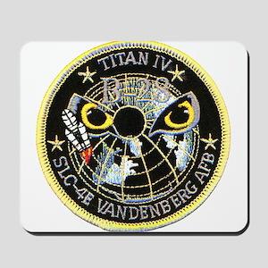 Titan IV Vandenberg Mousepad