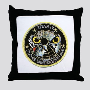 Titan IV Vandenberg Throw Pillow