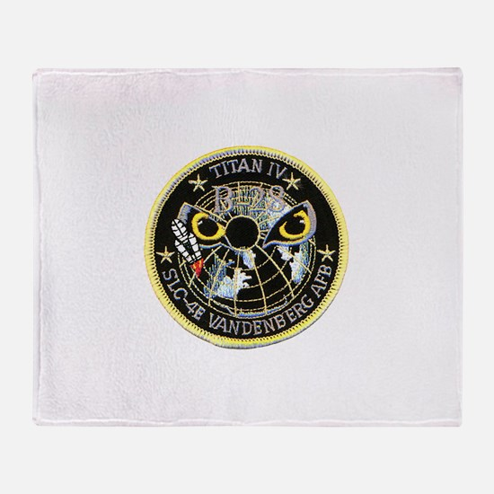 Titan IV Vandenberg Throw Blanket