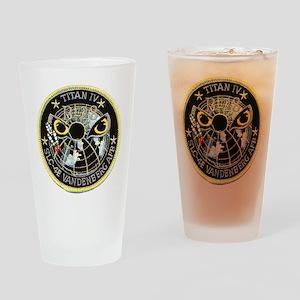Titan IV Vandenberg Drinking Glass