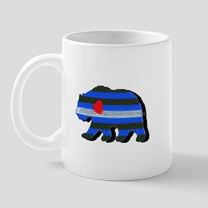 LEATHER BEAR/BLACK SHADOW Mug