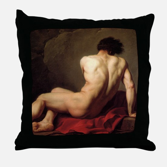 Patroclus Throw Pillow