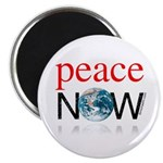 """Peace Now 2.25"""" Magnet (10 pack)"""