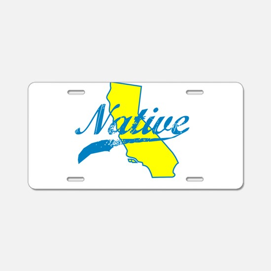 NATIVE CALIFORNIA SHIRT BUMPER STICKER TEE Aluminu