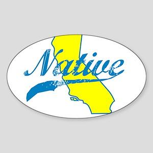 NATIVE CALIFORNIA SHIRT BUMPER STICKER TEE Sticker