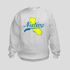NATIVE CALIFORNIA SHIRT BUMPER STICKER TEE Sweatsh
