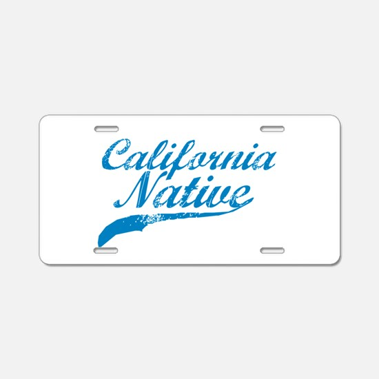 CALIFORNIA NATIVE SHIRT BUMPER STICKER Aluminum Li