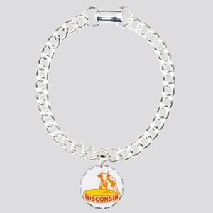 Vintage Wisconsin Cheese Bracelet