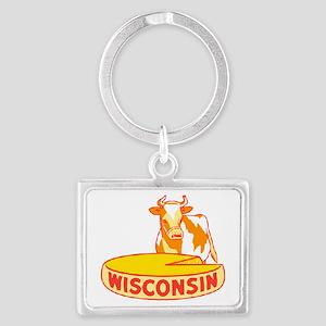 Vintage Wisconsin Cheese Keychains