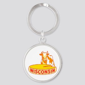 Vintage Wisconsin Cheese Keychains