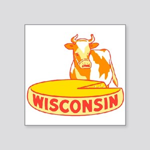 Vintage Wisconsin Cheese Sticker