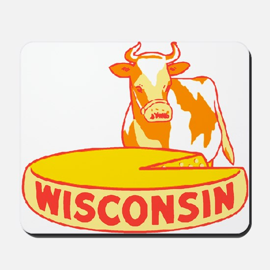 Vintage Wisconsin Cheese Mousepad