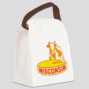 Vintage Wisconsin Cheese Canvas Lunch Bag