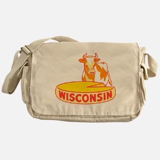 Vintage Wisconsin Cheese Messenger Bag
