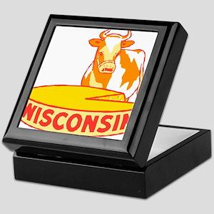 Vintage Wisconsin Cheese Keepsake Box