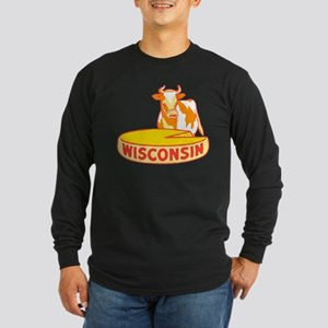 Vintage Wisconsin Cheese Long Sleeve T-Shirt