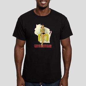 Vintage Wisconsin Pinup T-Shirt