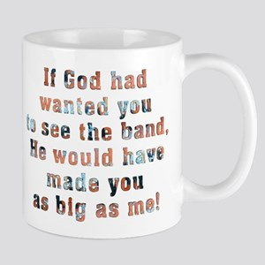 if god had wanted you to see the band Mugs