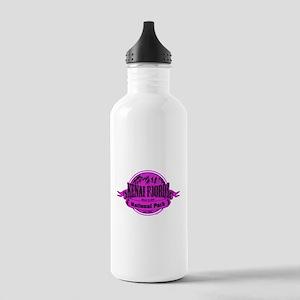 kenai fjords 2 Water Bottle
