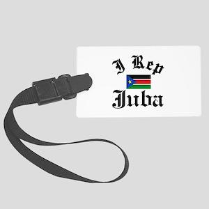 I rep Juba Large Luggage Tag