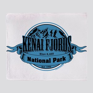 kenai fjords 1 Throw Blanket
