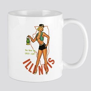 Illinois Pinup Mug